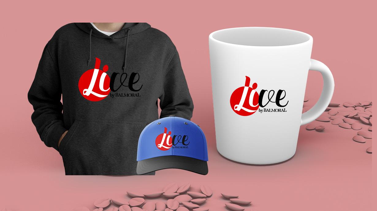 live branding